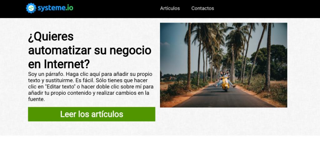 blog systeme.io